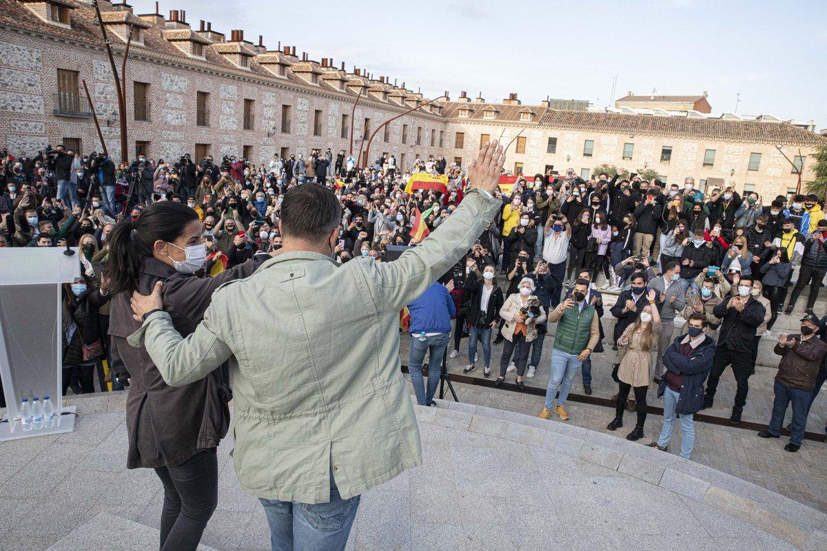 Foto cedida por VOX Madrid