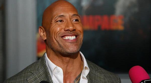 Dwayne Johnson responds to poll showing nearly half of Americans support him for president Photo