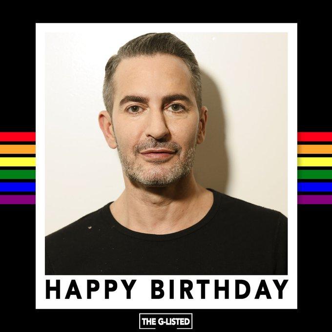 Happy birthday to fashion designer Marc Jacobs!