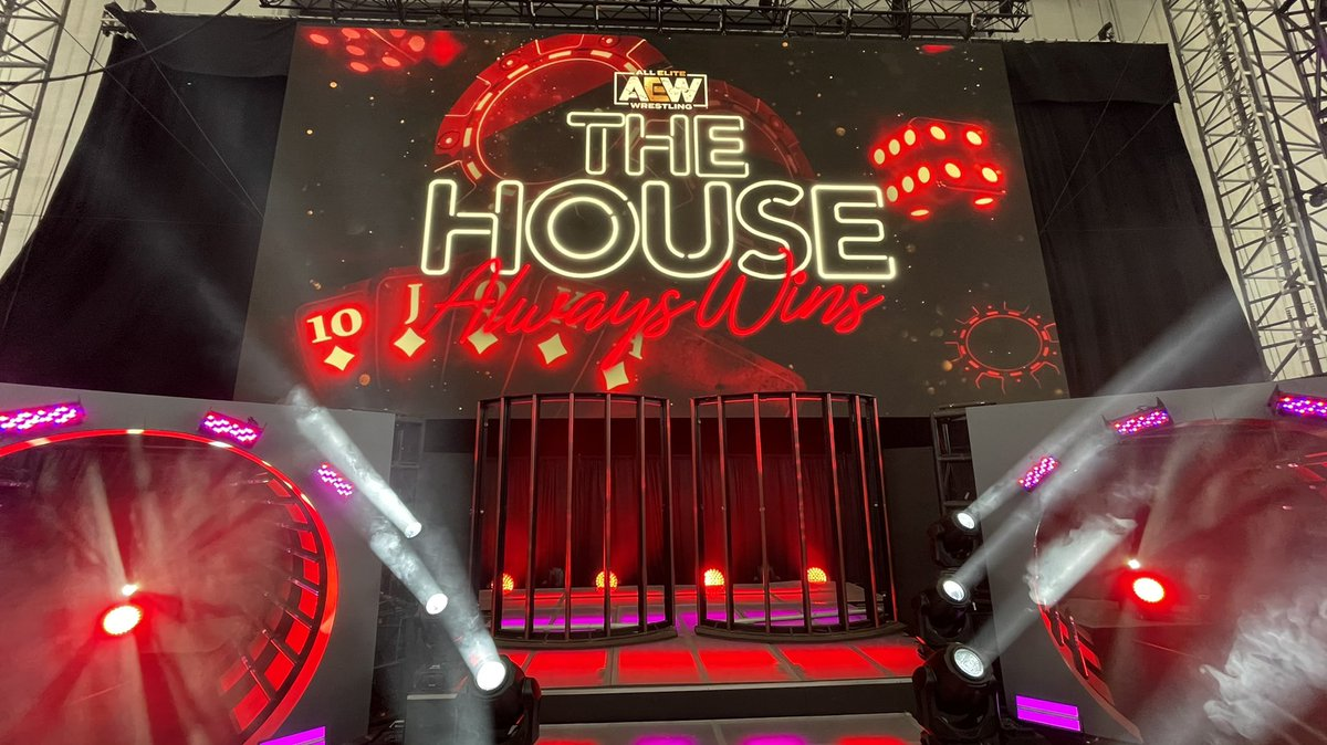 """AEW """"The House Always Wins"""" Live Event Results"""