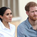 Image for the Tweet beginning: Prince Harry and Meghan Markle