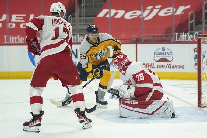 Predators injury list grows longer with Forsberg on IR Photo