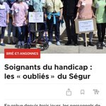 Image for the Tweet beginning: Soignants du #handicap : les