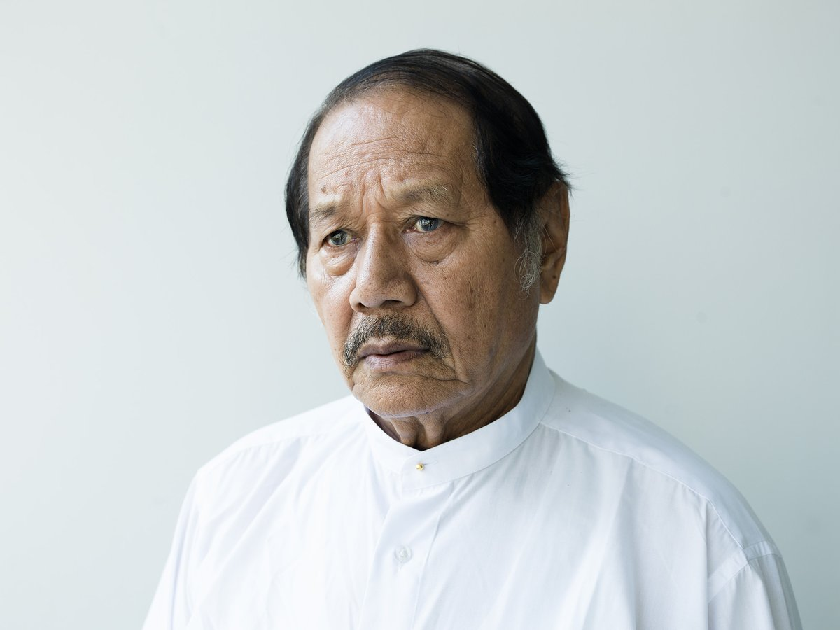 Veteran actor and director Aung Lwin,85, one of founders of the #NLD in 1988, was detained by the military on Friday, his family member posted on social media as junta's target on anti-coup celebrities is underway in #Myanmar. #WhatsHappeningInMyanmar #Burma https://t.co/Z5ktwHZLaO