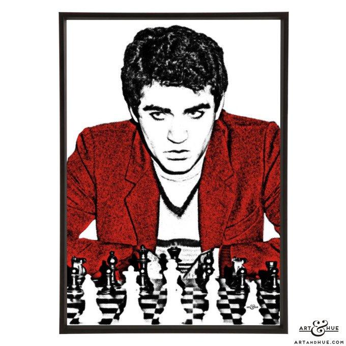Happy birthday to Garry Kasparov! The chess grandmaster is 58 today.