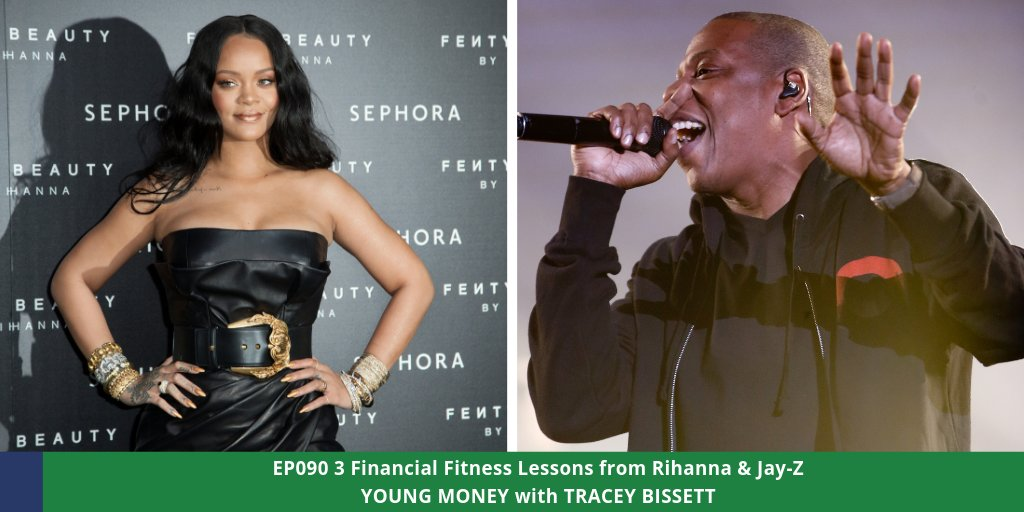 How better to learn about financial fitness than by analyzing the lives of a #millionaire & #billionaire? Listen to EP090 to hear 3 Financial Fitness Lessons from Rihanna & Jay-Z here . #youngmoney #finlit #finfit #SBLV #KC #Tampa #tidal  #rocnation