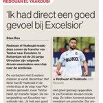 In #ADUN: Utrechter Redouan el Yaakoubi had direct een goed gevoel bij Excelsior