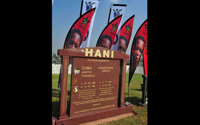 WATCH Commemoration of 28th year of Chris Hani's death