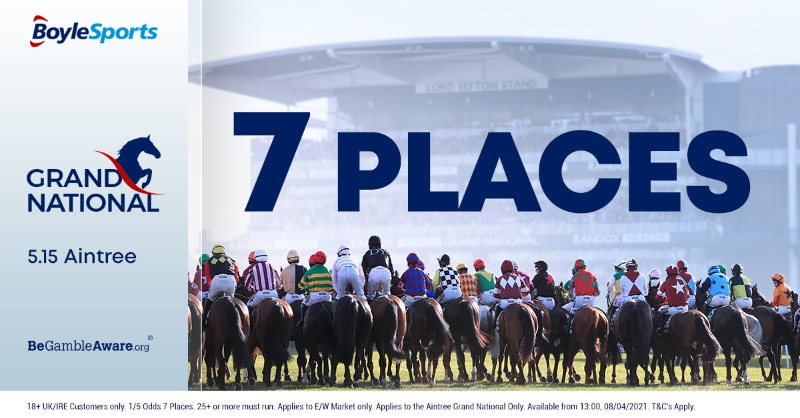 Boylesports Grand National 7 places
