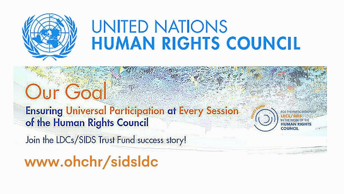 In a landmark for least developed countries and small island developing states, 160 @UN member states have sponsored a decision to support universal participation in its work - more than any other in the Human Rights Council's history.  Read it here 👉 https://t.co/Bjn8chfm4T https://t.co/NrwPoWDQsZ
