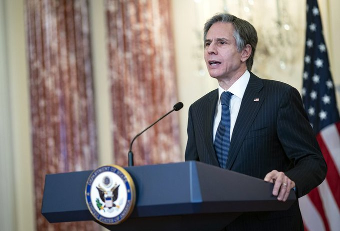US unveils new rules for government contacts with Taiwan Photo