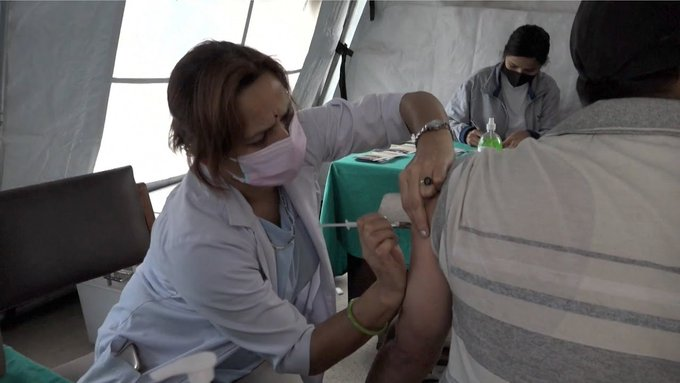 Nepal starts second phase of vaccination program with Chinese vaccines Photo