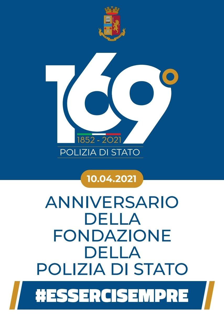 #AnniversarioPolizia