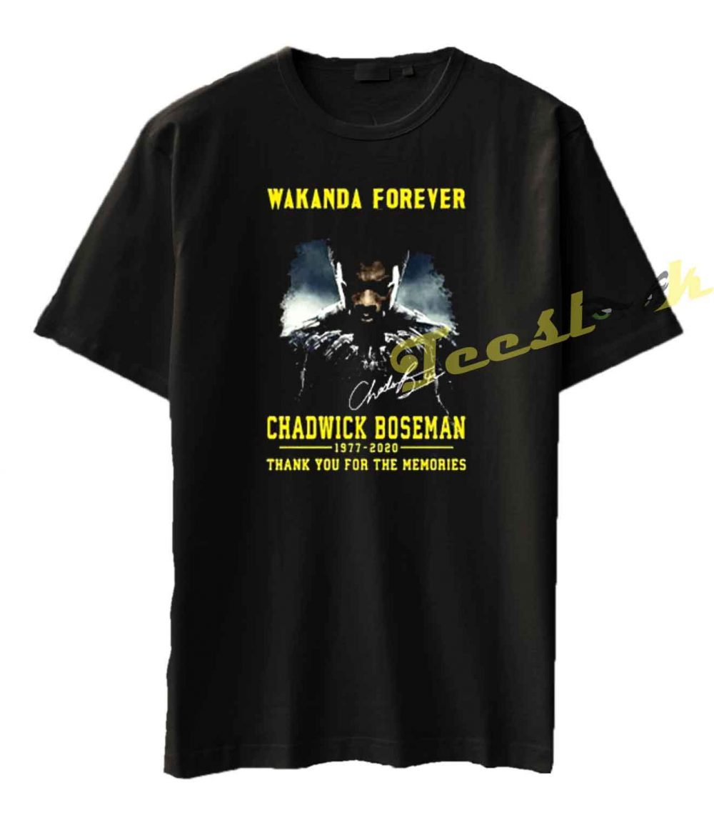 #clothingbrand #style #brand #design #clothes #clothingline #art #ootd #hoodies #love #streetstyle #mensfashion #sportswear #fitness #hoodie #lifestyle Wakanda forever black panther chadwick Boseman 1977 2020 thank you for the memories Tee shirt https://t.co/sVkUnFIlM8 https://t.co/c14RbVzExU