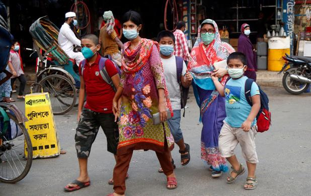 South Asia surpasses grim milestone of 15 million Covid-19 cases Photo