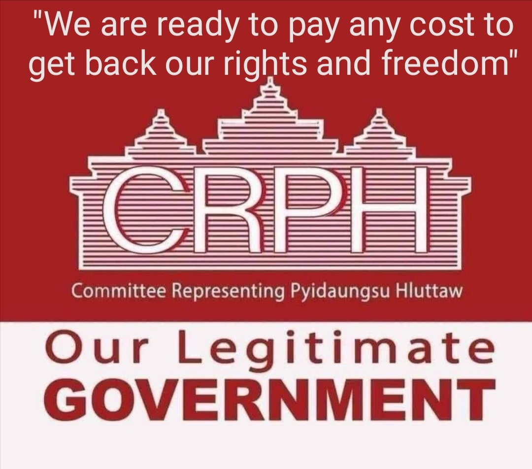 """@KenRoth """"We are ready to pay any cost to get back our rights and freedom""""  #FreeAungSanSuuKyi  #FreeAungSanSuuKyiAndDetainees  #FreeDawAungSanSuuKyi  #WeSupportCRPH  #WesupportCRPHGovernment  #AungSanSuuKyi  #WeSupportCDM  #RejectMilitaryCoup  #EchoOfMyanmar  #WhatsHappeningInMyanmarNow https://t.co/l0ZjgbLT5u"""