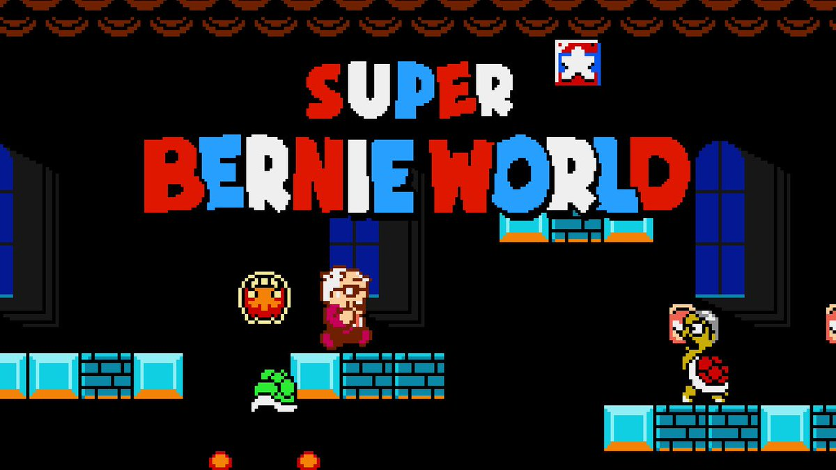 Now ready for your viewing pleasure!!  Lets Play - Super Bernie World!! (There's a BERNIE SANDERS Game!!)    Only on THE PLANET OF NERDS!!  #bernie #Berniememes #BERNIE2020 #berniesandersmittens #berniesanders #superbernieworld #game #gaming