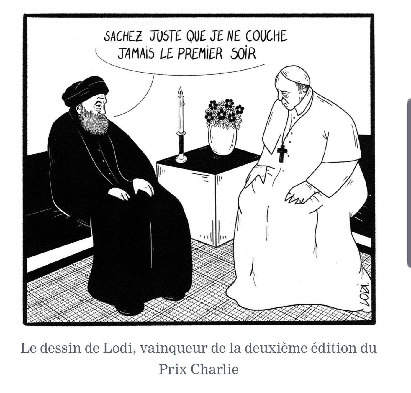 Charlie Hebdo ou l'anticléricalisme à géométrie variable