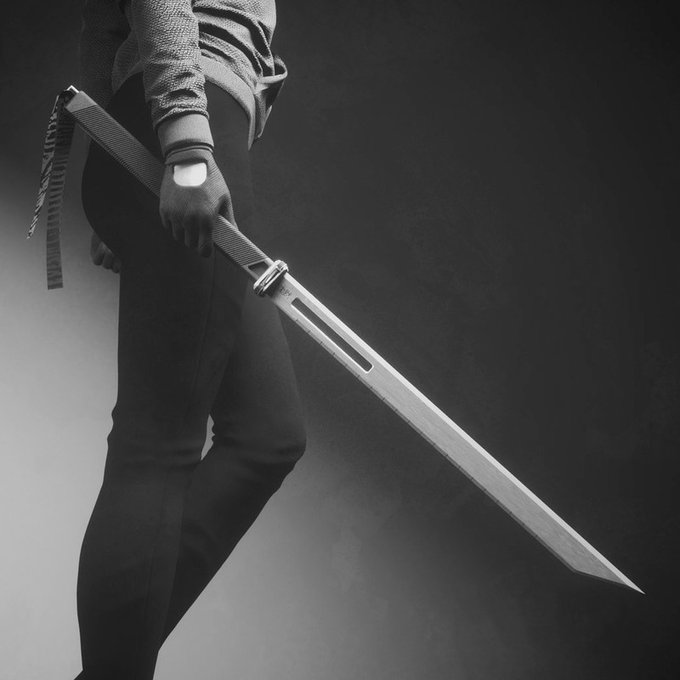 test Twitter Media - #amwriting #writingcommunity #writer #micropoetry #vsspoem #MoonMystic #MadVerse #horrorprompt 442 #nationalpoetrymonth  Yielding weapons would always be a setback  should he fall onto the finely honed edge  his dying declaration would never be justified https://t.co/QnsYmwOe3p
