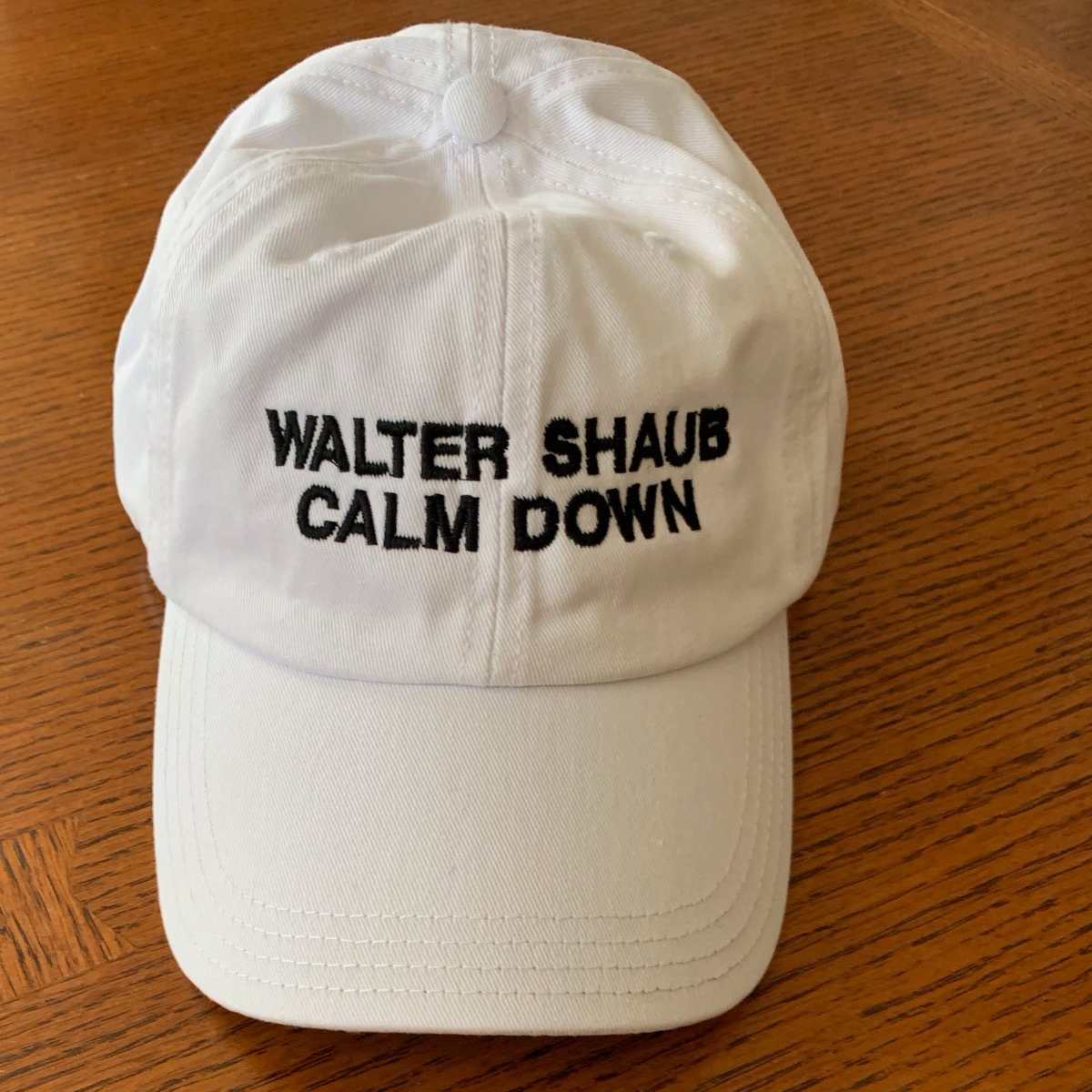 I won't calm down. Not when I have to announce a free newsletter in which I get to delve into government ethics and accountability issues. Sign up here: https://t.co/vffzdOfSqE  (Hat not included. Nor is it for sale. I don't need to run into these things everywhere I go!) https://t.co/MgszC1fso0