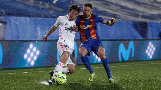 Duel pertandingan Real Madrid vs Barcelona