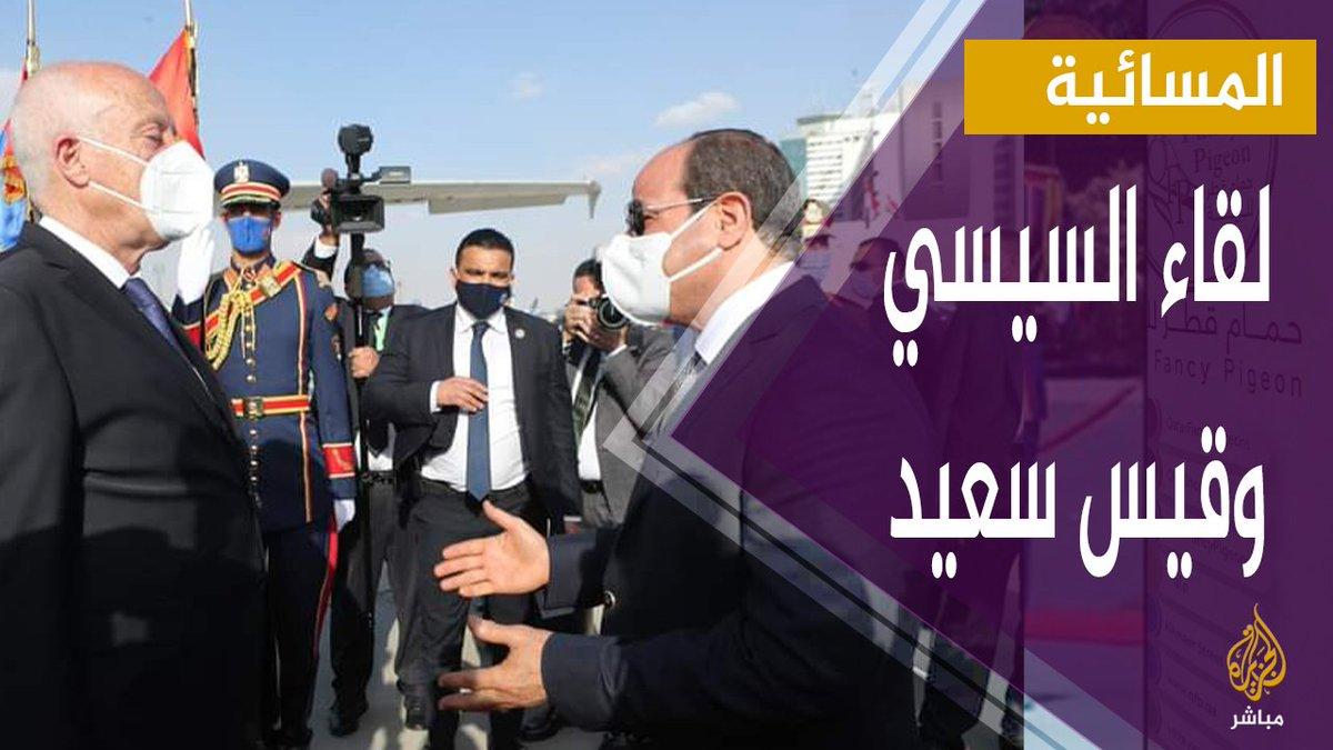 بعد زيارة قيس سعيد لـ السيسي .. من المستفيد؟ مصر تونس