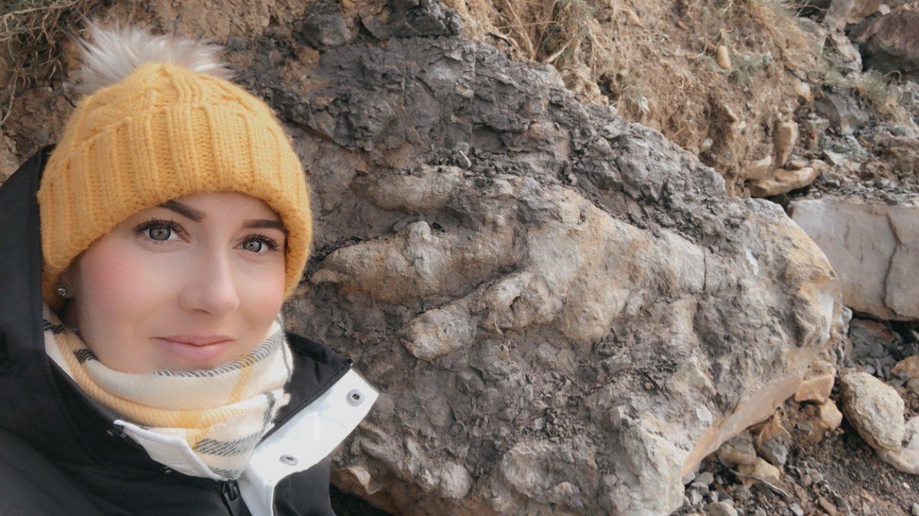Penemuan jejak kaki dinosaurus terbesar di Yorkshire