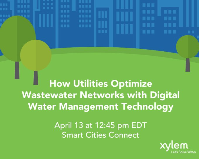 Join us Tuesday, 4/13 at #SCC21 for a panel discussion with @CityofSouthBend and @ColumbusGov on how cities are using real-time #watermanagement techn...