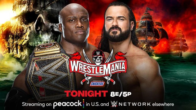 WWE WrestleMania 37: Results, weather delay, live updates and match ratings Photo