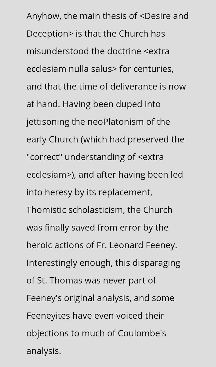 If Charles Coulombe stands by what he wrote here, then he is a HERETIC*, plain and simple -- and should not be presenting himself for Holy Communion.  The divination makes a lot more sense now.  *Please note that this is the first time I have described him as such. https://t.co/g6p20wAt7F