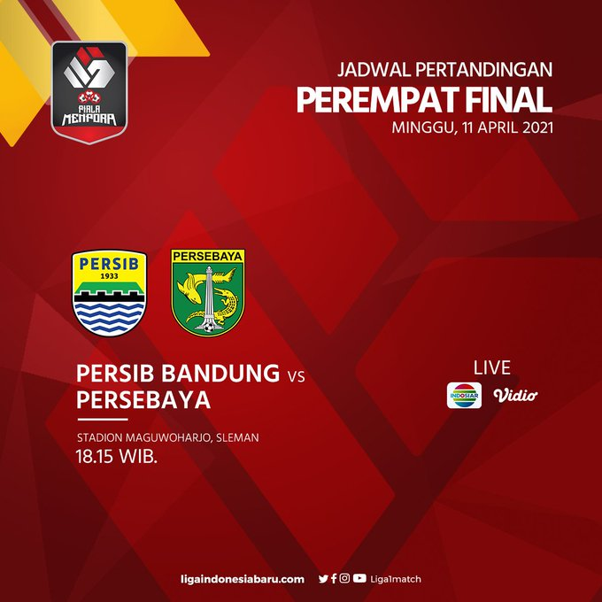 Persib Bandung vs Persebaya Surabaya