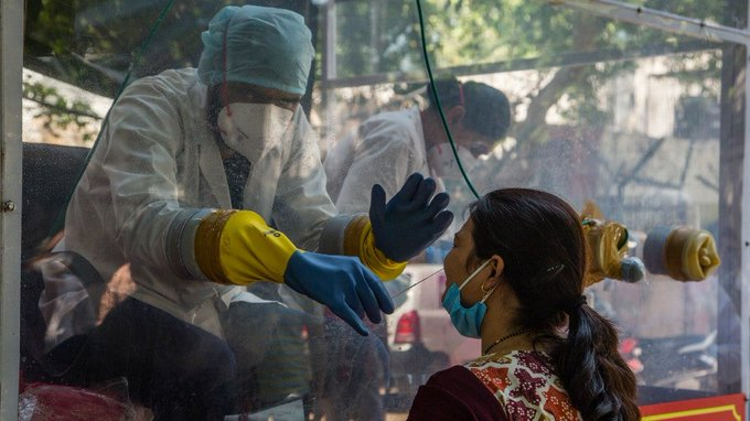 India tops 145k coronavirus cases in one day Photo