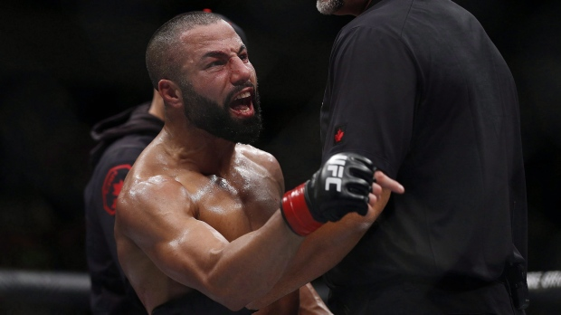 The Bull is back. Montreal lightweight John Makdessi scores upset UFC win https://t.co/5XrvUN0IzV https://t.co/k4qlMTorr7
