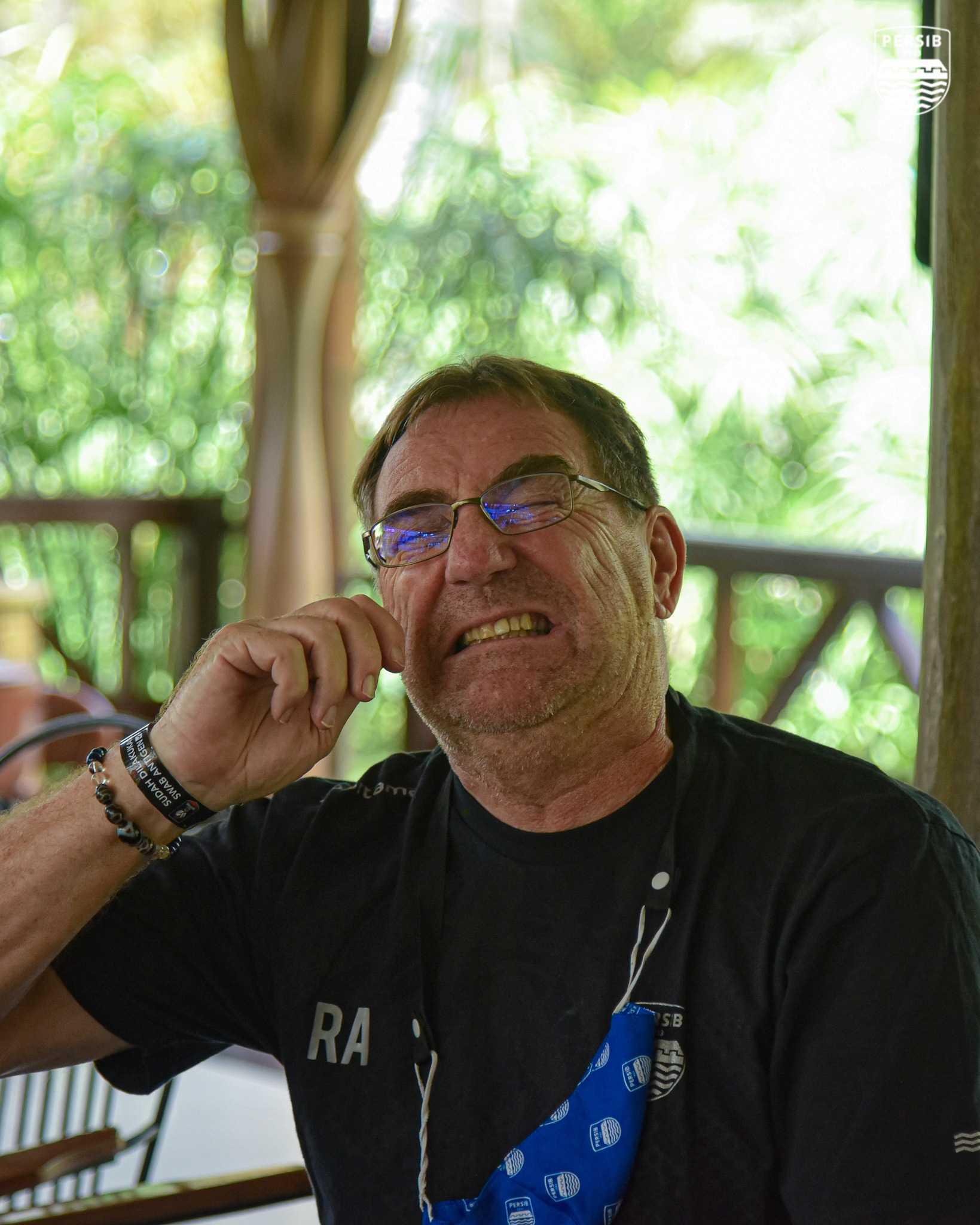 Pelatih Persib Bandugn Robert Rene Alberts