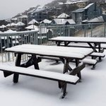 Image for the Tweet beginning: Snow in Australia two months