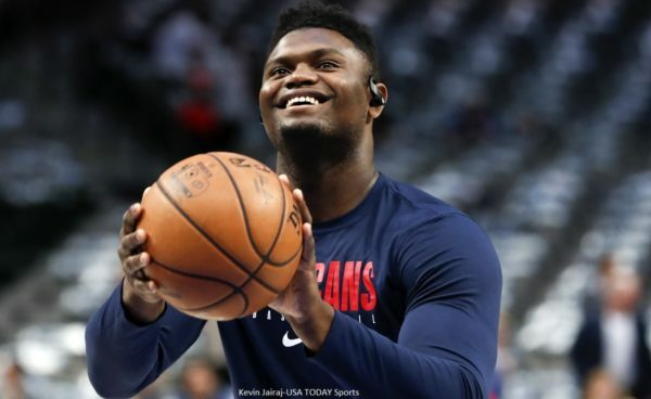 Zion Williamson to play more point guard for Pelicans?  Get More From This App : https://t.co/r6t7b7WaR1 https://t.co/xYNMpvYYsb