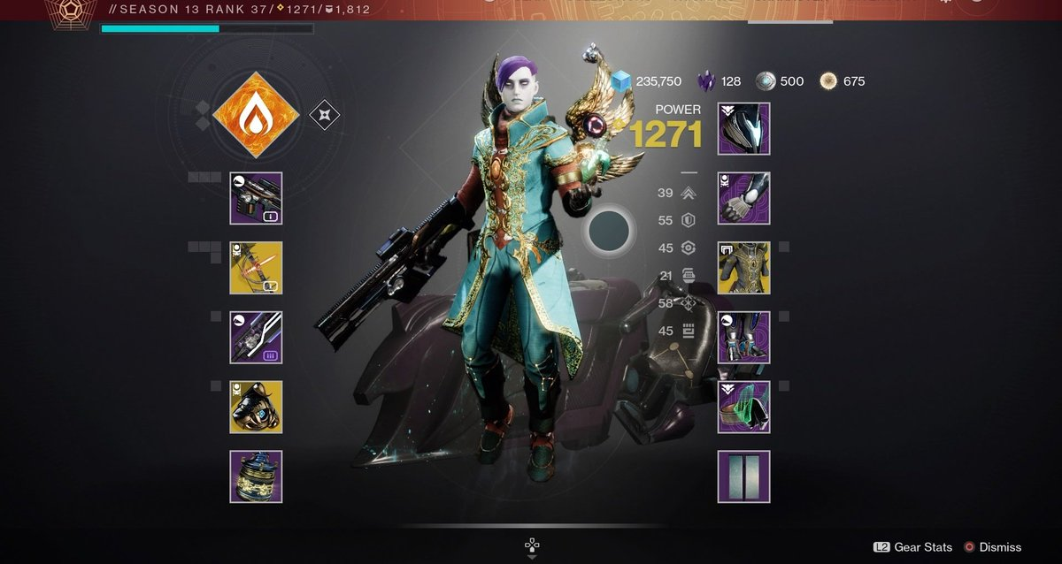 While wanting for Outriders to be patched I started Destiny 2... and I love playing my Warlock so far. :-) https://t.co/SOpg4CbMWg