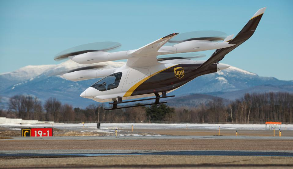 RT @Forbes: UPS Buying Electric Cargo Copters For Speedier, Greener Deliveries