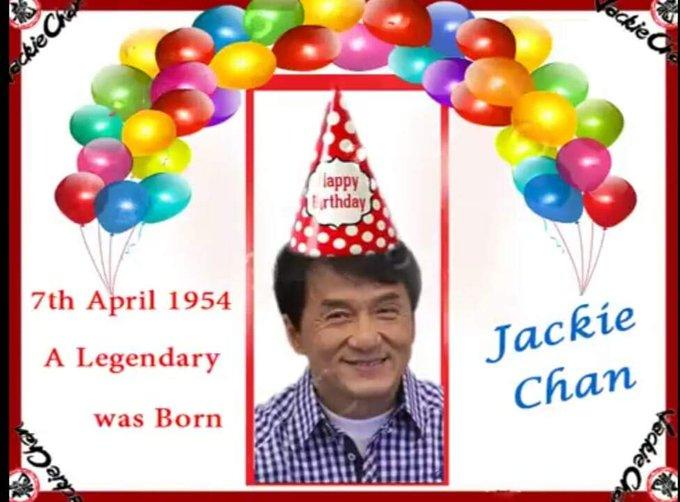Happy Birthday  Jackie Chan   hope best wishes  & good health forever ..we love u Big Brother