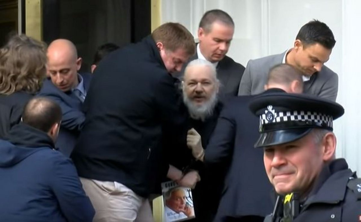 Two years ago today. Despite being charged with nothing and winning his extradition case, Julian Assange remains in prison. His punishment is a symbol of what happens when you really tell the truth.