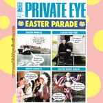 Image for the Tweet beginning: The latest issue of @PrivateEyeNews