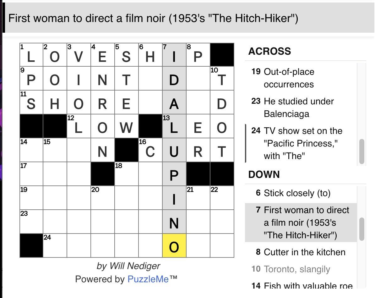 Nose Colloquial Crossword Clue