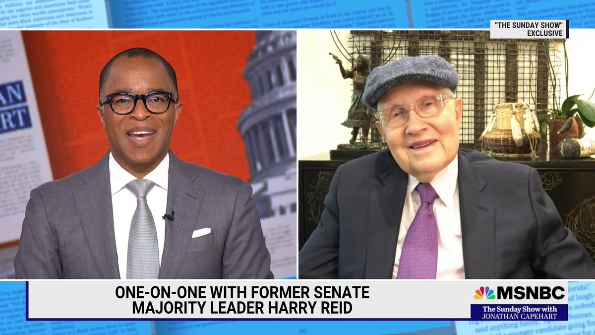 """.@SenatorReid tells @CapehartJ in a #SundayShow exclusive, """"It's not a question of if, it's a question of when the #filibuster goes away."""" https://t.co/9jUZa2hXgf"""