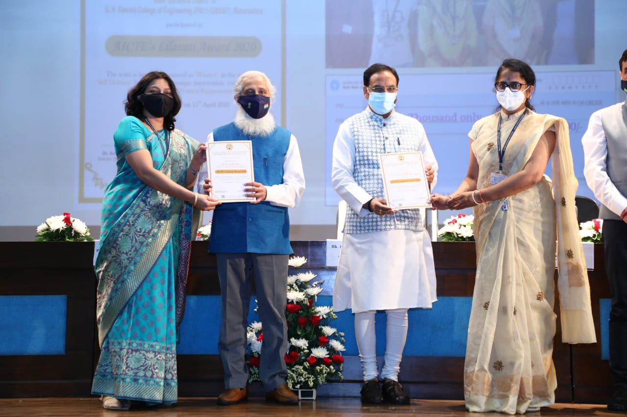 Nishank presents AICTE Lilavati Awards 2020 on women empowerment