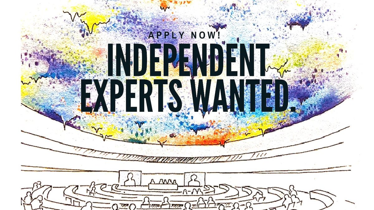 #HumanRights practitioner wanted to fill a vacancy for the Independent Expert on the enjoyment of human rights by persons with #albinism.  Deadline for applications: 13 April 2021 Apply here 👉 https://t.co/14bLKTx8Pc https://t.co/wGymIJ7RHi