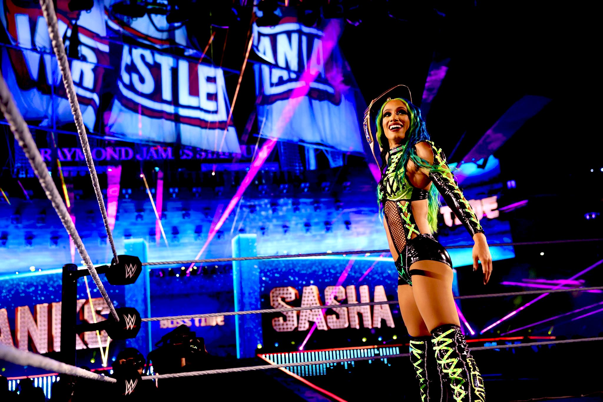 "Sasha Banks On WWE Summerslam 2021, ""It's Going To Be Bigger Than Wrestlemania"" 94"