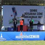 Image for the Tweet beginning: Maratonİzmir Etiyopyalı atlet Tsegaye Getachew'in