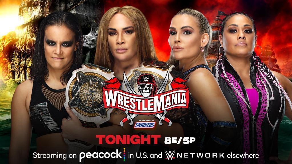 @WrestleMania's photo on Tamina