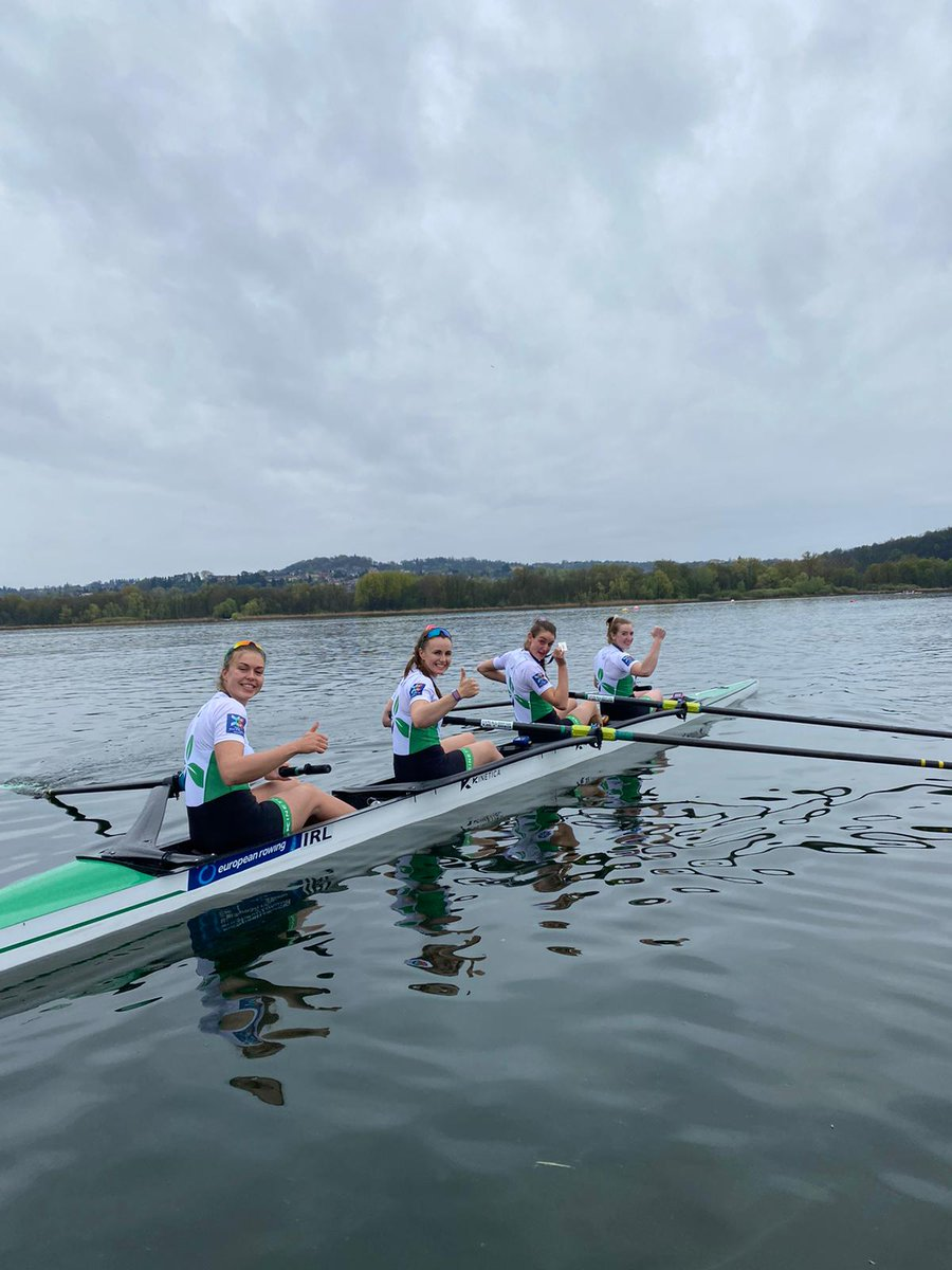 European Rowing Championships Results  Irish athletes took home two medals this weekend from the European Rowing Championships.  🥇🥇 Paul and Fintan won Gold in the LM2x  🥈🥈🥈🥈 Aifric, Emily, Eimear and Fiona won Silver in the W4-  Full Results: https://t.co/ihvBlW4oUF https://t.co/aprH7bZ43d