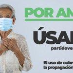Juntos, evitemos una tercera ola de contagios por  en el país.  Demuestra tu amor por México y....